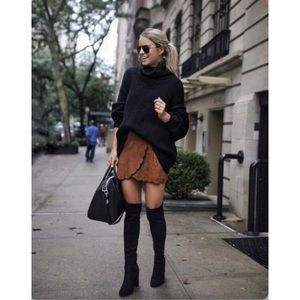 Liz Claiborne Layla over the knee suede boots